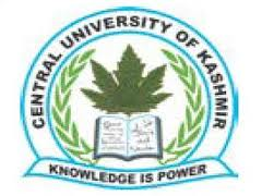 Central University of Kashmir Jobs